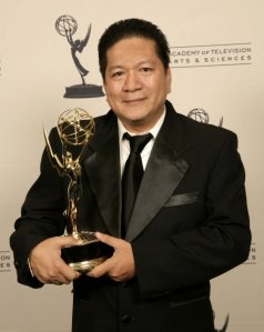 first Filipino to win an Emmy
